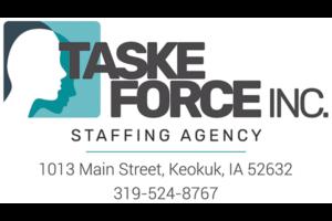 Taske Force, Inc. Temporary Employment Agency - Keokuk Iowa